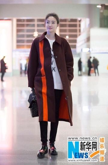 Sao Hoa ngữ sành điệu với áo thun - Hình ảnh 12