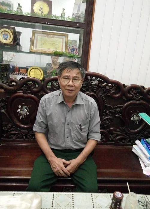 Doanh nhân, Cựu chiến binh Phạm Khắc Hà - Chủ tịch Hiệp hội làng nghề dệt lụa Vạn Phúc.