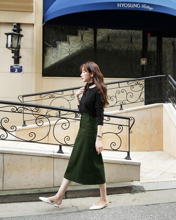 Áo thun dài tay: Lựa chọn tuyệt vời cho các nàng trong mùa thun - Hình ảnh 5