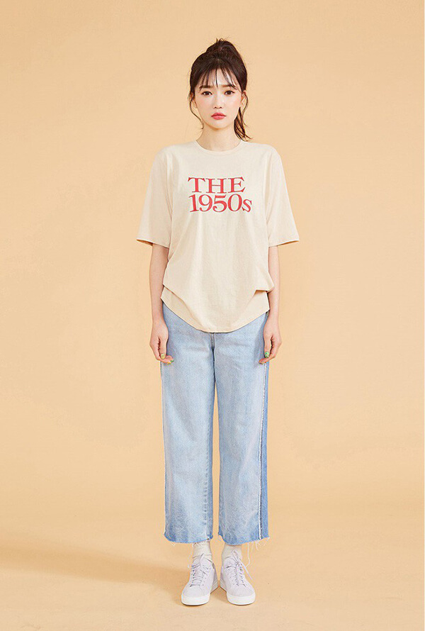 Top 5 kiểu áo thun đơn giản mặc cả tuần không biết chán - Hình ảnh 15