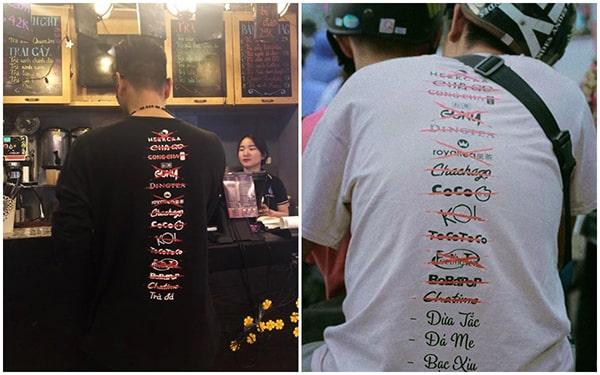 Giới trẻ Việt mê mệt áo thun in chữ - Hình ảnh 4