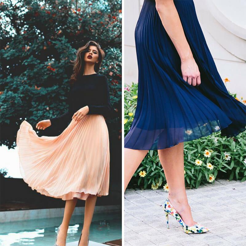 Bí quyết chọn chân váy phù hợp với dáng quả lê