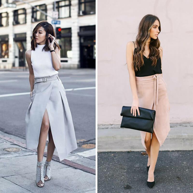 Bí quyết chọn chân váy phù hợp với dáng người chữ nhật