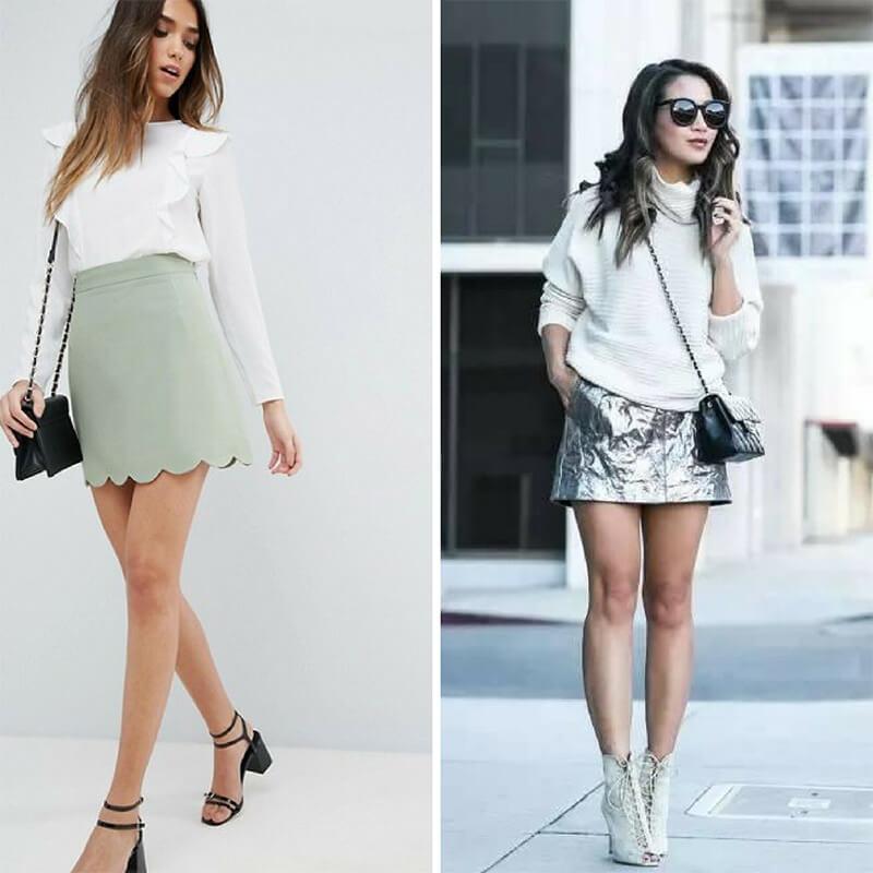 Bí quyết chọn chân váy phù hợp với dáng người nhỏ nhắn