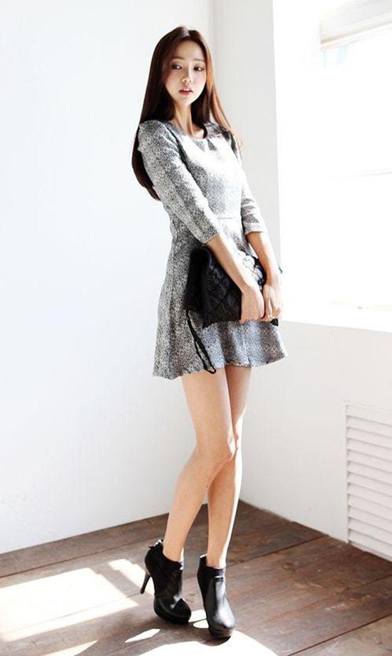Bí quyết mặc váy giữ dáng cho các nàng tăng cân dịp Tết - Hình ảnh 7