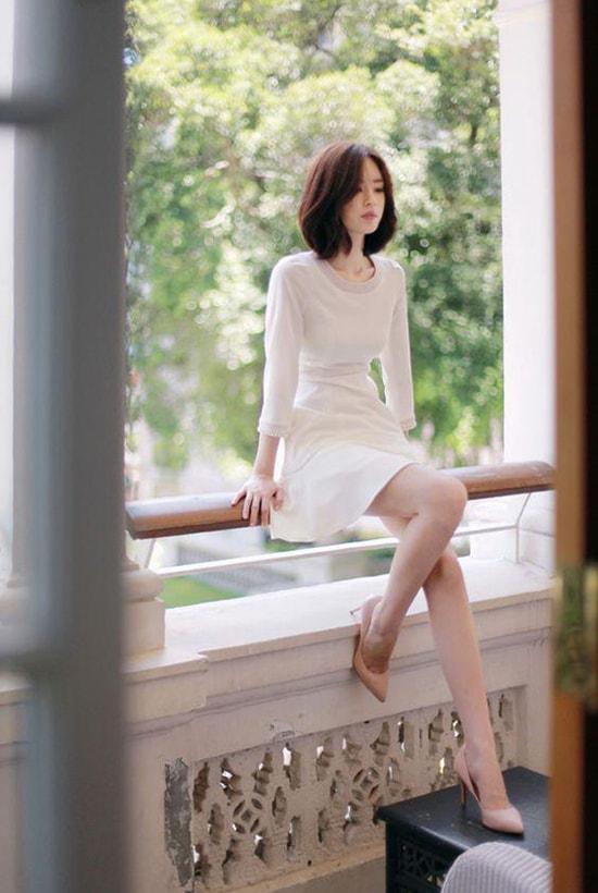 Bí quyết mặc váy giữ dáng cho các nàng tăng cân dịp Tết - Hình ảnh 8