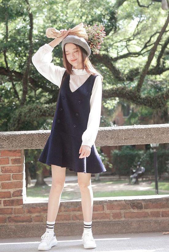 Bí quyết mặc váy giữ dáng cho các nàng tăng cân dịp Tết - Hình ảnh 9