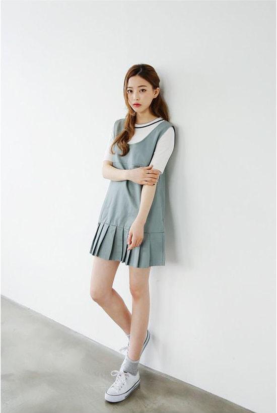 Bí quyết mặc váy giữ dáng cho các nàng tăng cân dịp Tết - Hình ảnh 10