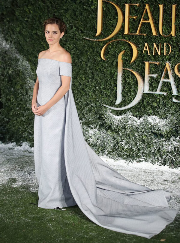 Đầm dạ hội của Emilia Wickstead.
