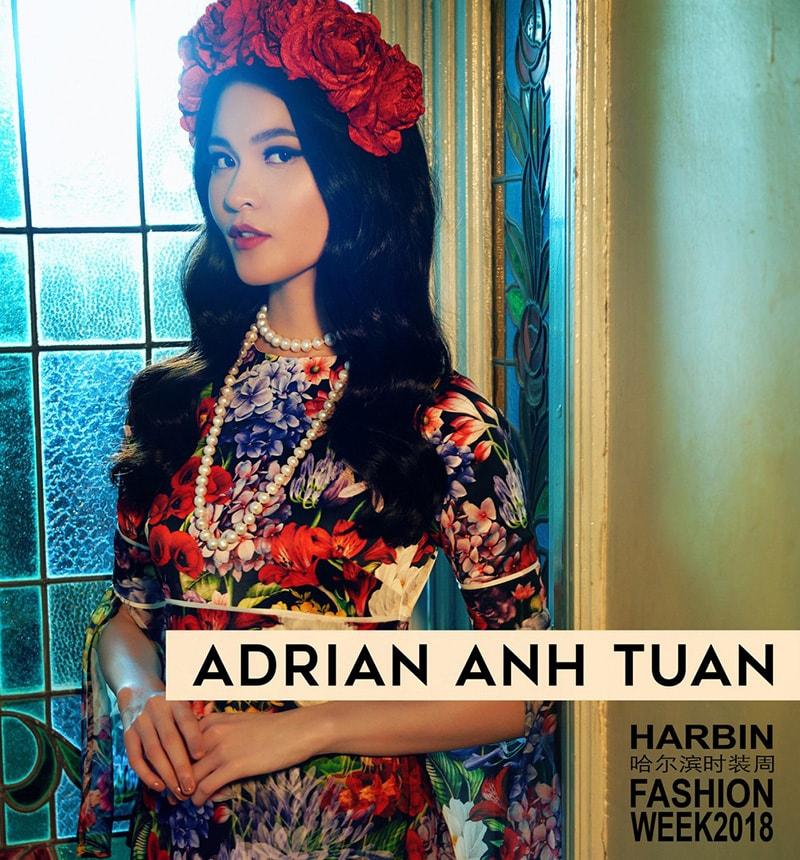 Adrian Anh Tuấn mang Khu Vườn Bí Mật tham dự Harbin Fashion Week - Hình ảnh 1