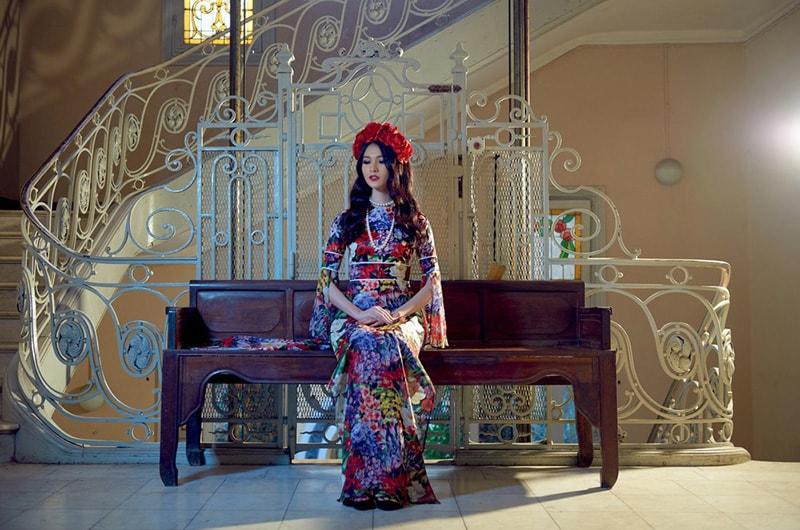 Adrian Anh Tuấn mang Khu Vườn Bí Mật tham dự Harbin Fashion Week - Hình ảnh 7
