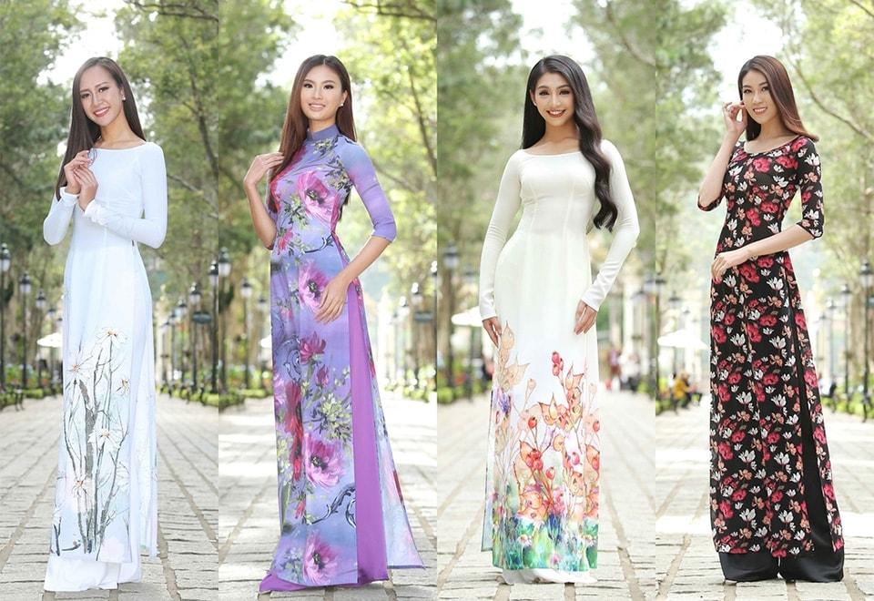 Thi sinh Hoa hau Hoan vu Viet Nam khoe sac trong ta ao dai o Da Lat - Hinh anh 8