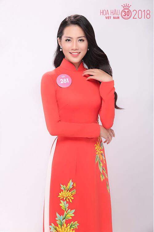 Thí sinh Trương Nữ Thu Hiền sinh năm 1997.