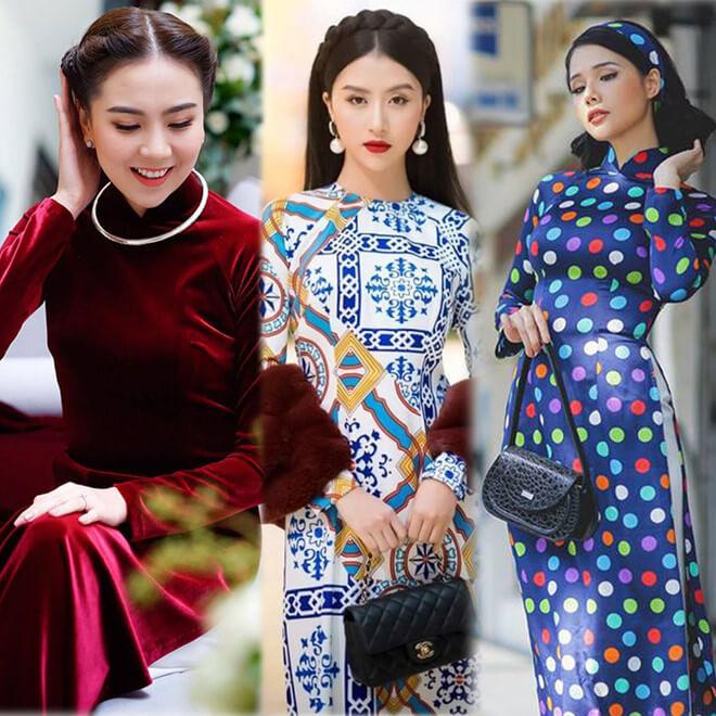 Những lưu ý quan trọng để mặc áo dài đẹp trong ngày Tết