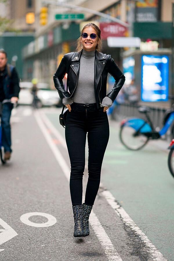 Phong cách thời trang đẹp hút hồn của Barbara Palvin - Ảnh 15