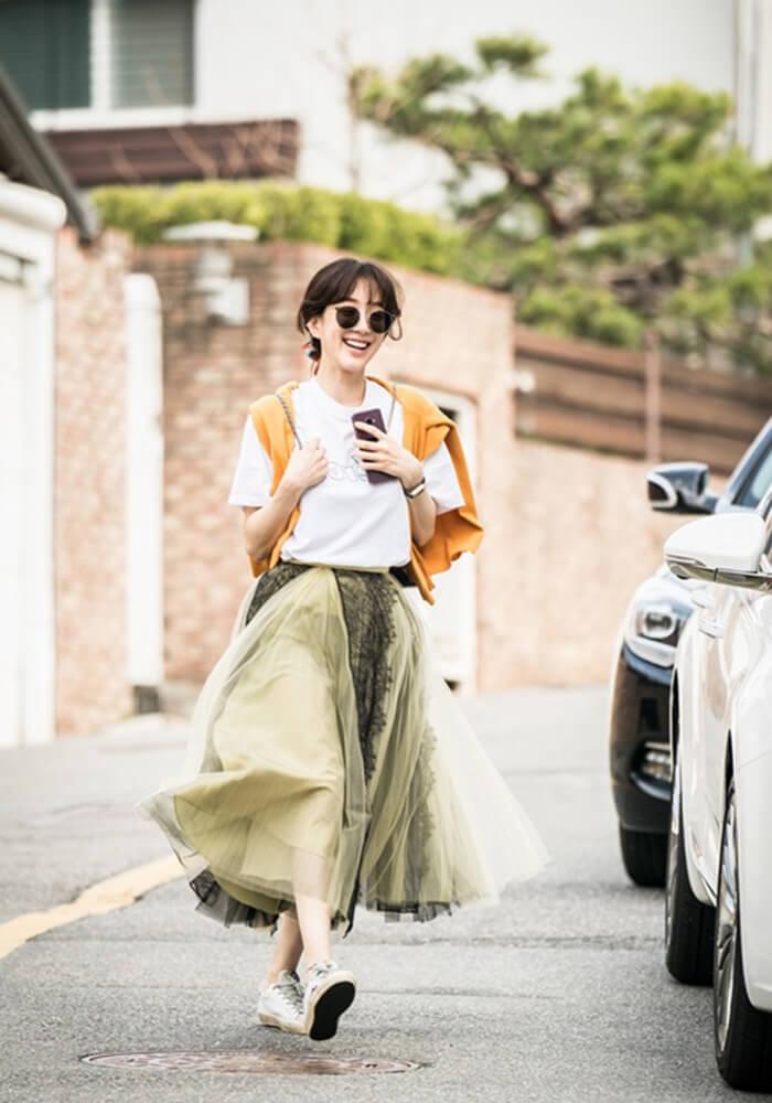Soi thời trang của tiểu thư Dan Sae Woo trong Chảo Lửa Tình Yêu - Hình ảnh 5
