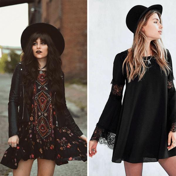 Gợi ý diện trang phục màu đen trong những ngày hè rực nắng - Hình ảnh 22