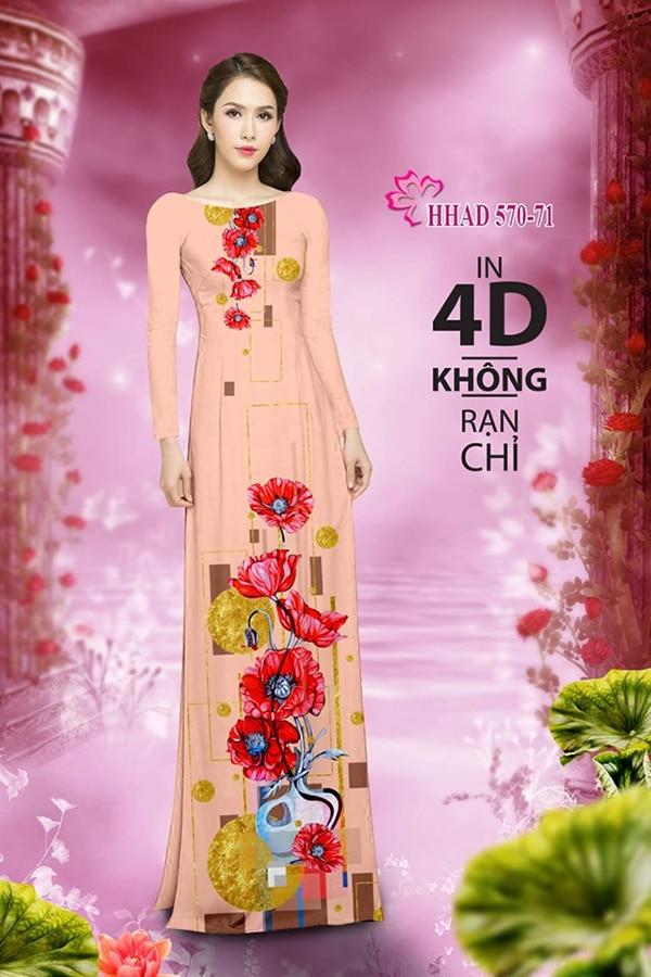 Mau ao dai dep su dung phuong phap in ao dai 4D - Hinh anh 6