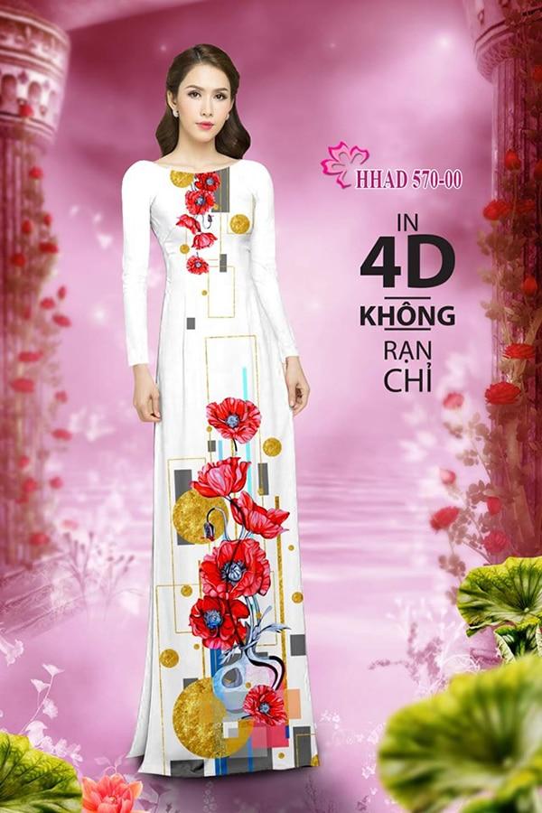 Mau ao dai dep su dung phuong phap in ao dai 4D - Hinh anh 7