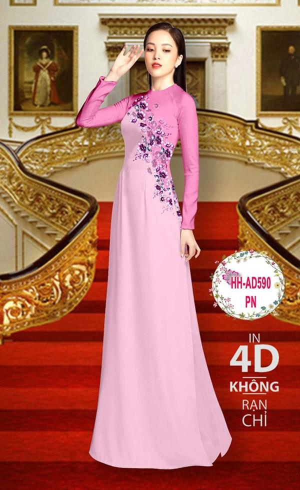 Mau ao dai dep su dung phuong phap in ao dai 4D - Hinh anh 8