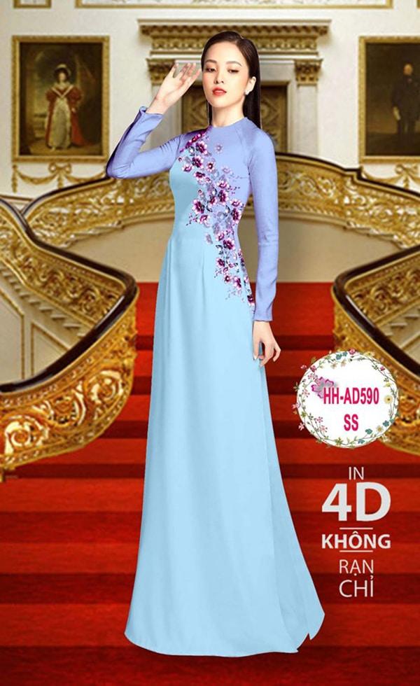 Mau ao dai dep su dung phuong phap in ao dai 4D - Hinh anh 9