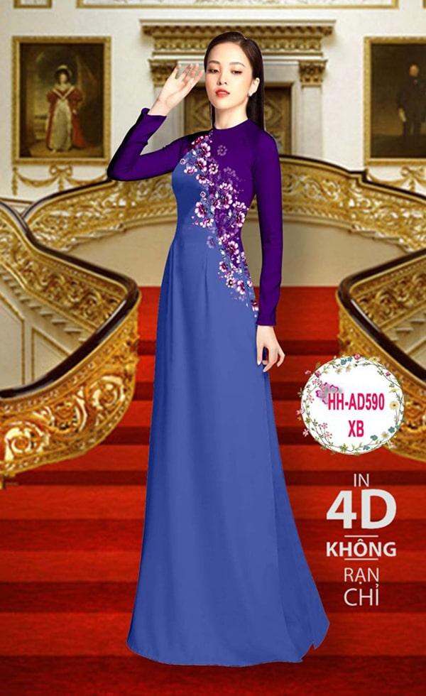 Mau ao dai dep su dung phuong phap in ao dai 4D - Hinh anh 10
