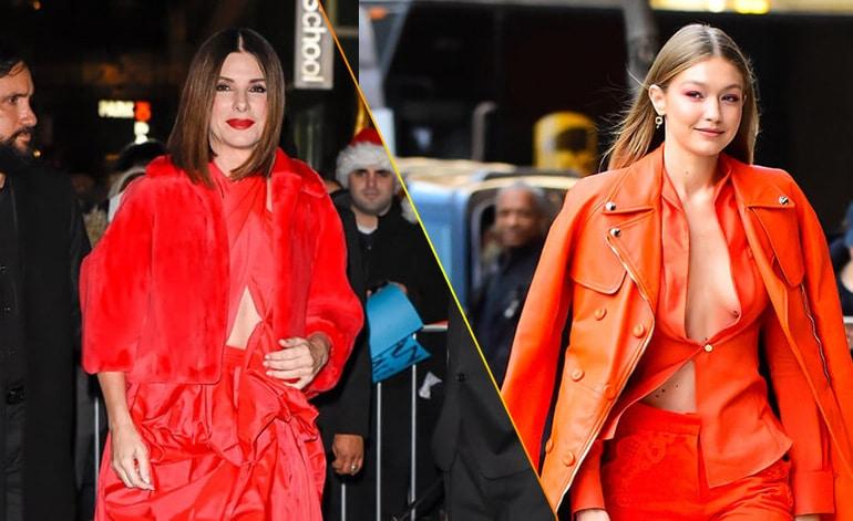 Mỹ nhân Hollywood mê mệt cam san hô, màu sắc của năm 2019