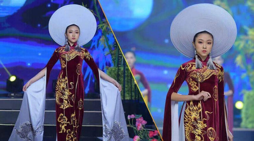 Người mẫu teen Bảo Nguyên mở màn Vũ điệu Đông Hồ