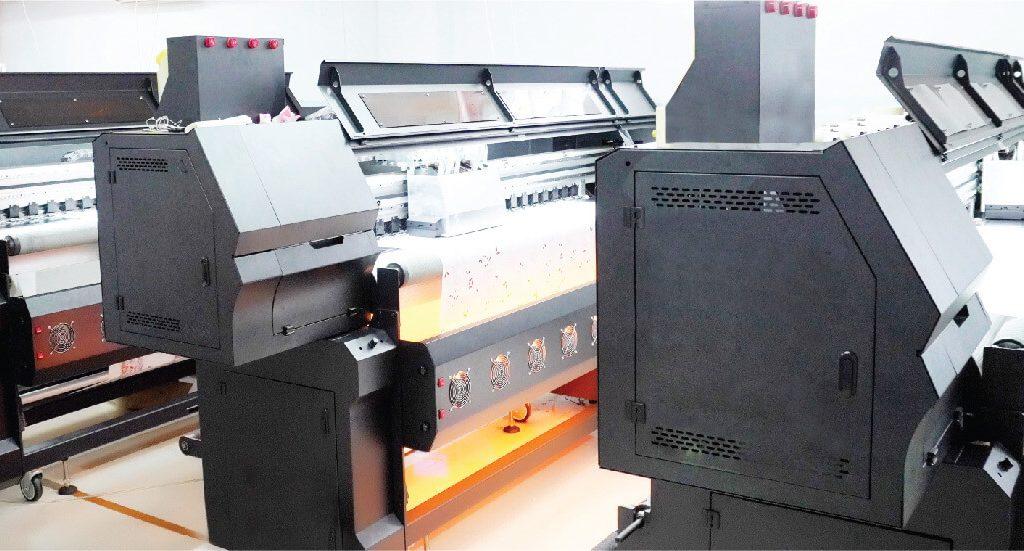 Xưởng in vải kỹ thuật số vải Hoa Anh Đào