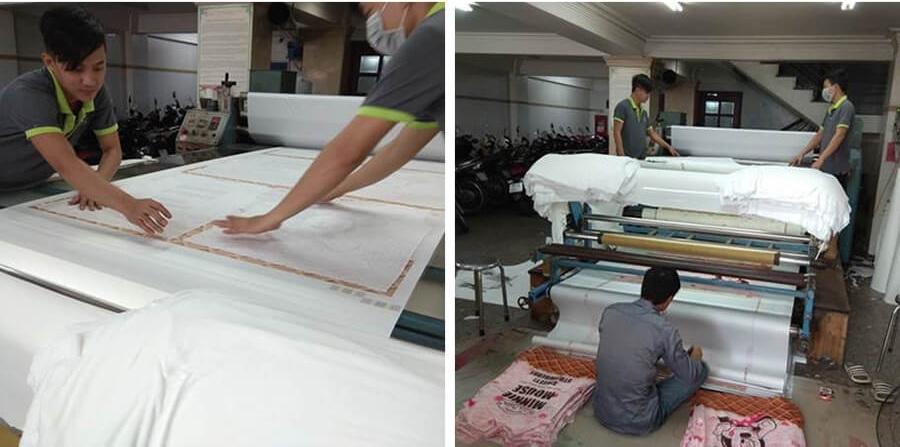 Công nghệ in kỹ thuật số gián tiếp lên vải giúp tối ưu hóa năng suất in lên trên vải